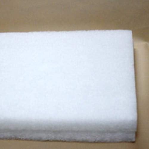 ZengBuks Filtro de Pescado Tand Tela de algodón Filtro bioquímico Resistente al Lavado Duradero Tanque de Peces de algodón Filtro de Corte de Acuario - Blanco: Amazon.es: Productos para mascotas