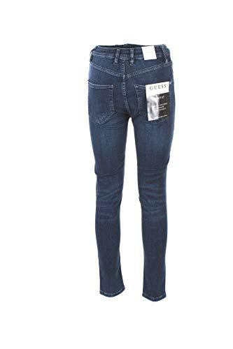 Jeans D38P0 Blue Femme Guess W83A26 Super Highrise 656BIq