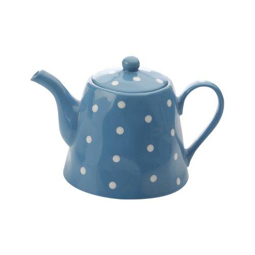Maxwell and Williams Sprinkle Teapot, 40.5-Ounce, Sky