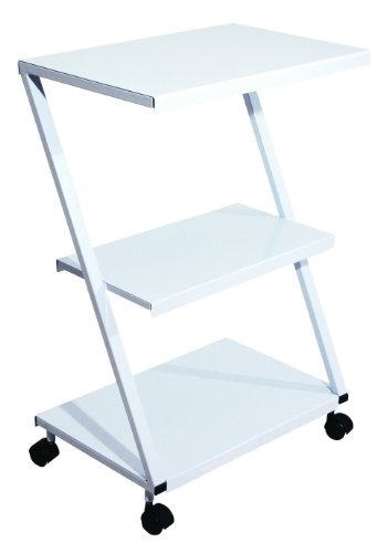 3B-Scientific-W15112-Carbon-Steel-Z-Tubular-Multi-purpose-Steel-Table-Cart-235-Length-x-16-Width-x-355-Height