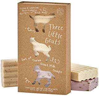 Simply Bee Well Three Little Goats Goat Milk Soap Set of -