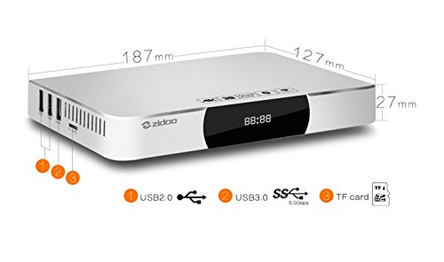 Zidoo X9 Android Smart TV Box Media Streaming Player