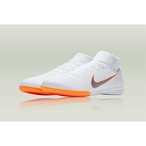 White Superflyx O Bianco Uomo Nike Academy Mercurial 6 107 da Scarpe Chrome Calcio total IC B5vq5w