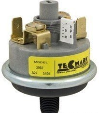 Adjustable Pressure Switch - Tecmark Spa 3902 Series Universal Pressure Switch 1 Amp w/out Brass Fittings 3902