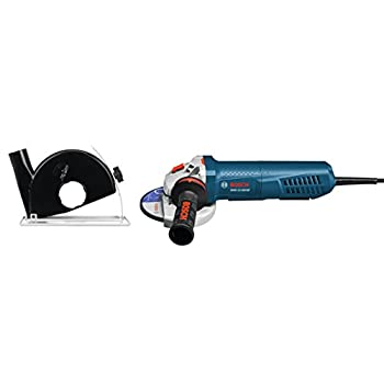 Image of Bosch 5 In. Variable-Speed Angle Grinder with Paddle Switch and Dust Guard GWS13-50VSP-DG