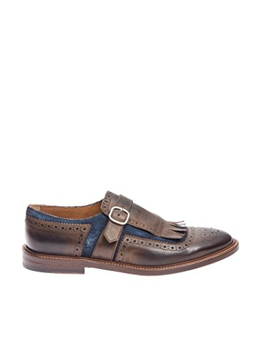 DOUCAL'S - Botas de senderismo para hombre marrón marrón 41 marrón