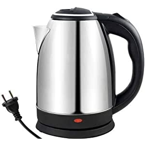 Fruas Stainless Steel Electric Kettle with Auto Shut Off Multipurpose Extra Large Cattle Electric with Handle Hot Water…