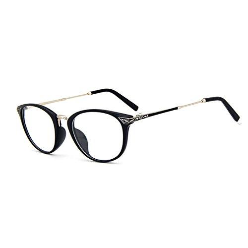 dking-vintage-optical-round-eyewear-prescription-eyeglasses-frame-with-clear-lenses-black