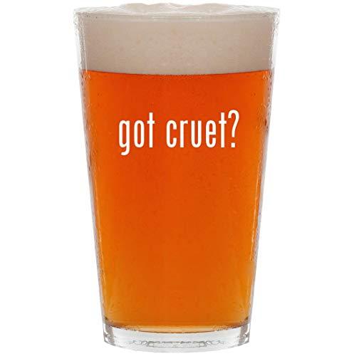 got cruet? - 16oz All Purpose Pint Beer Glass