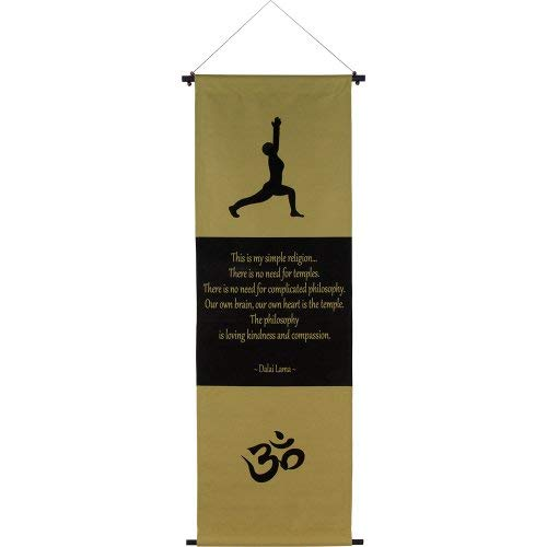 The New Age Source Cotton Inspirational Banner Dalai Lama Each [並行輸入品]   B07T9T5GTX