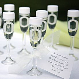 72 Champagne Glass Bubble Wedding Favours- NEW Kressies Wedding Accessories X50002