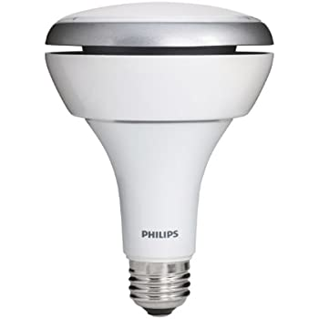 Philips 423798 10.5-Watt to 13-Watt  (65 Watt) BR30 Indoor Soft White (2700K) Flood LED Light Bulb, Dimmable