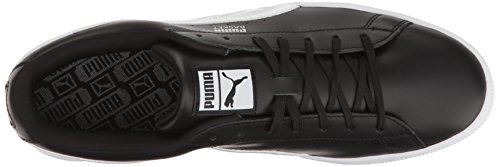 Black Silv Men's Badge Puma Classic Basket Puma Fashion Sneaker puma qvxnUzq60f