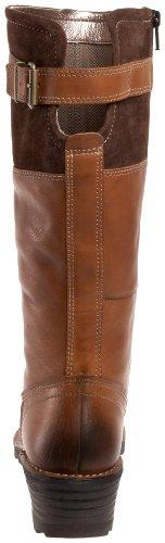 Ecco - Botas de cuero Mujer marrón - marrón