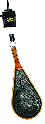 Hammerhead Industries Gear Keeper Net Retractor RT3-0012 - Features Heavy-Duty Snap Clip Mount with QC-II Split Ring Accessory- Ideal for Fly Fishing and Kayak Fishing - Made in USA