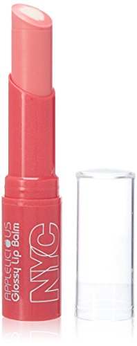 NYC New York Color Applelicious Glossy Lip Balm ~ Pink Lady - Makeup 3.5g/0.12oz Plum