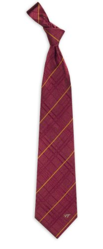 Virginia Tech Striped Woven Silk Neck - Virginia Woven Tie