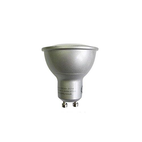 Millumine - Bombilla LED, 5 W, casquillo GU10, regulable, potencia constatada 35 W, color blanco medio: Amazon.es: Iluminación