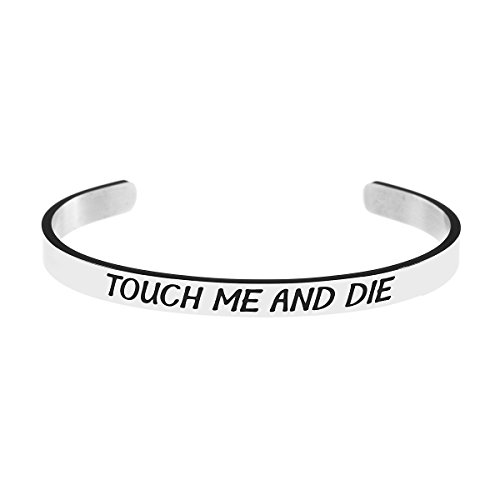 Engravable Bracelet Stainless Steel Bangle Jewelry for Women Ladies Personalized Cuffs