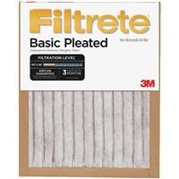 Filtrete Basic Pleated Air Filter FBA02DC-H-6, 20 in x 20 in