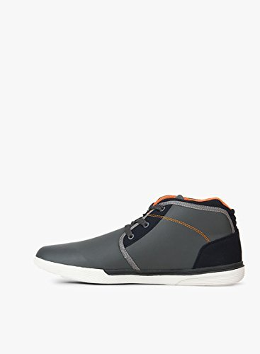 Uk Sneakers And 8 Dark Orange Sum Grey Men's Hi Lotto wqHUzR0