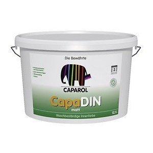 Wandfarbe Weiß caparol capadin 12 5 liter weiss farben wandfarbe innenfarbe amazon