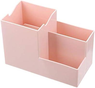 Buynow 1 x multifunktionale Schreibtisch-Aufbewahrungsbox, mehrlagig, Büro, Aktenaufbewahrung, Post, Veredelung, Korb, Magazin rose