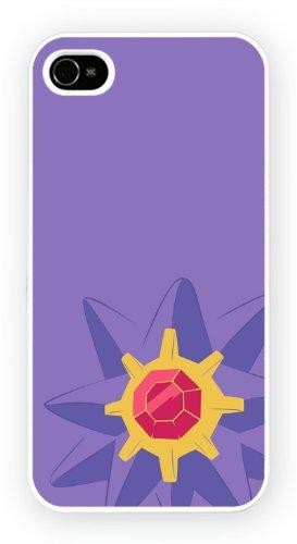 Pokemon Starmie TV, iPhone 4 4S, Etui de téléphone mobile - encre brillant impression