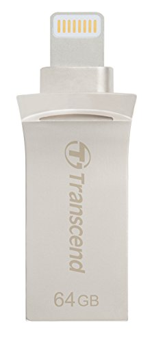 Transcend Mobile Storage for iOS Devices - 64 GB - USB 3.1,