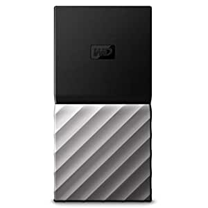 WD 256GB My Passport SSD Portable Storage - USB 3 1 - Black-Gray -  WDBKVX2560PSL-WESN