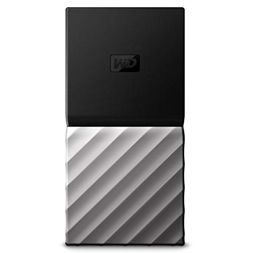 WD 512GB My Passport SSD Portable Storage - USB 3.1 - Black-Gray - WDBKVX5120PSL-WESN