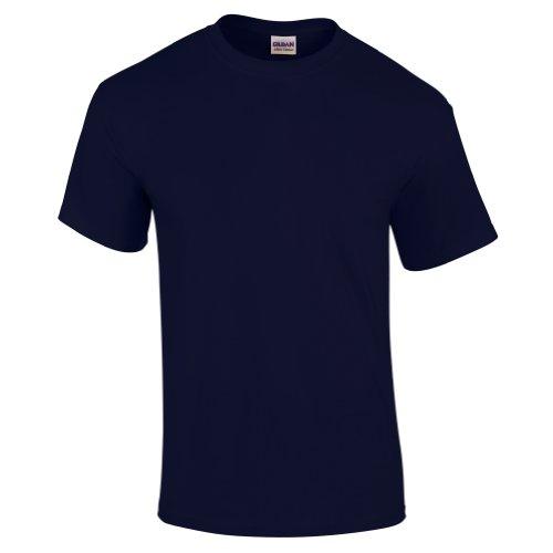 - Gildan Mens Heavy Cotton 100% Cotton T-Shirt, XL, Navy