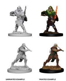 WizKids D&D Nolzur's Marvelous Miniatures: Male Elf Fighter