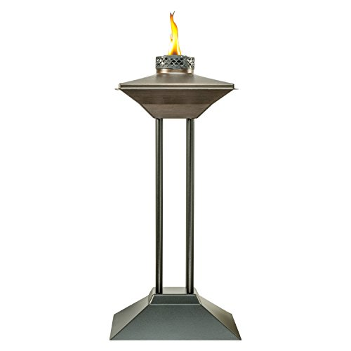 TIKI Brand 28-Inch Cordoba Metal Patio Torch, Bronze (Patio Tops Table Outdoor)