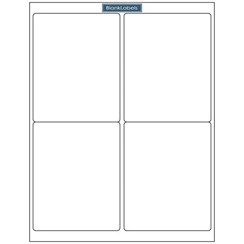 """Cheap 800 Stamps.com SDC-4650 Compatible Address Labels - Laser and Ink Jet Sheets. 4"""" x 5"""" Blank Labels Brand. Made in the USA… for cheap"""