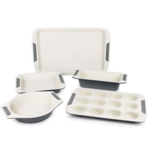 Viking Ceramic Nonstick Bakeware Set, 5-piece