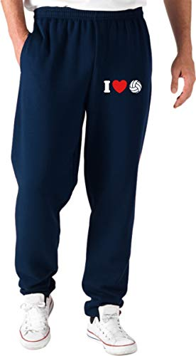 Volleyball Pantaloni Shirt Tuta Navy Blu Tlove0088 Speed I Love RB8anxaZT