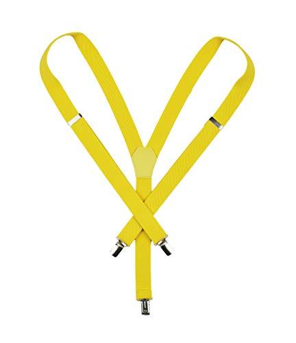 Yellow Women Suspenders. 1