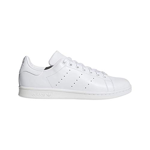 adidas Men's Originals Stan Smith Sneaker, White/White/White, 9 M US ()
