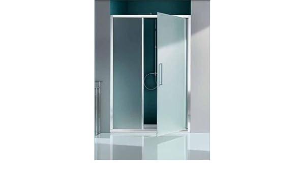 Mampara de ducha Europa Panel abatible y paredes fijo en línea con ...