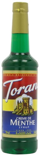 Torani Syrup, Creme De Menthe, 25.4-Ounce PET Bottles (Pack of 3)