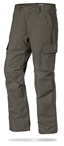 LA Police Gear Mens Urban Ops Tactical Cargo Pants - Elastic WB - YKK Zipper - Sierra - 34 x 32
