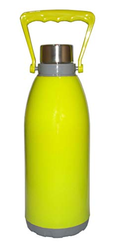 Kotak Sales Cool N Cool 1200ML Double Walled Insulated Water Bottle with Handle Unbreakable Design 1.2 Liter 100% Food…