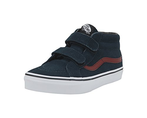 Vans Kids K SK8 MID Reissue V Dress Blue Madder Brown Size 3