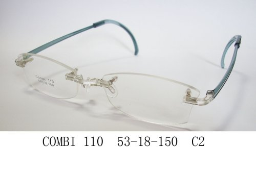 (Transitional Eyeglasses with Interchangeable Arms; Prescription Lens Custom Made Included)