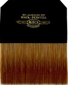 Mack Brush RP-4 Gilders Tip For Loose Gold Mack Sign Lettering by Mack Brush