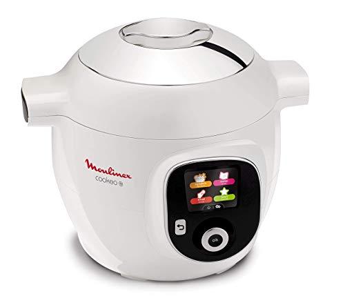 Moulinex Cookeo + CE8511, Multicooker, 150 Ricette Pre-Programmate, 6 Modalità di Cottura, Capacità 6 Litri, Bianco 1