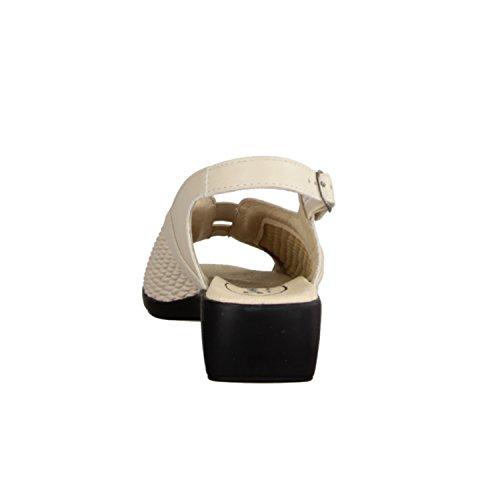 Slowlies 415-118- SLOWLIES, Beige, leder/textil (anilincalf/stretch)