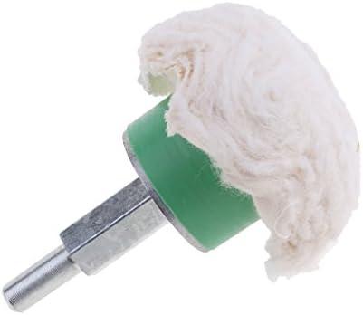 磨き綿ホイール 回転ツール アクセサリー用 全6サイズ 強い清潔力 洗車用 - #1-45x20mm