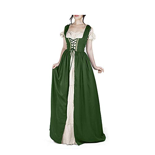 Highlander Fancy Dress Costumes - Abaowedding Women's Boho Medieval Reminisce Irish